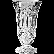 Vintage Signed Waterford Crystal Balmoral Vase