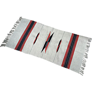 Finely Woven Navajo Indian Carpet