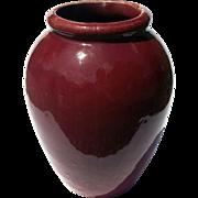 Mid-Century Vintage Robinson Ransbottom Roseville Ohio Oil Jar Vase