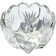 Marquis By Waterford Small Crystal Heart Bowl