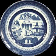 Mottahedeh Blue Canton Salad Plate