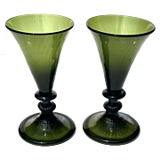 Pair Of Early 19th Century Wine Glasses
