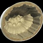 19th Century Stoneware Pottery Mold