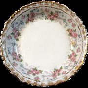 Antique Jean Pouyat French Limoges Porcelain Berry Bowl