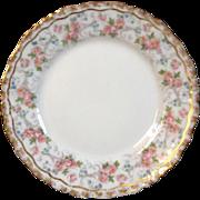 Antique Jean Pouyat French Limoges Porcelain Desert Plate