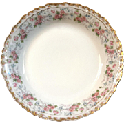 Antique Jean Pouyat French Limoges Porcelain Soup Bowl