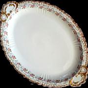 Antique Jean Pouyat French Limoges Large Porcelain Platter
