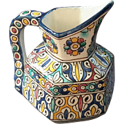 Persian Faience Pottery Pitcher