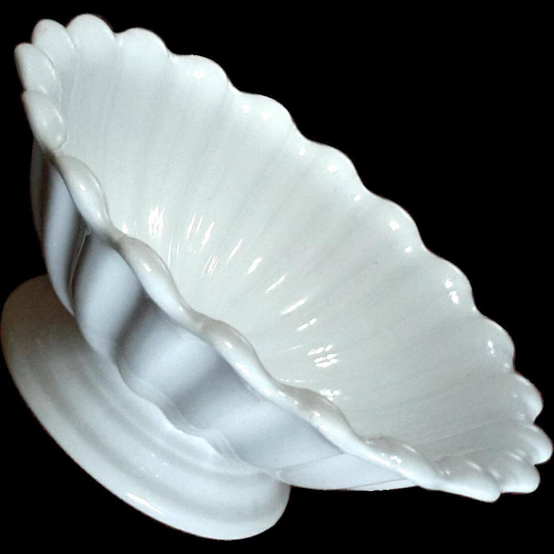 Antique Parisian Porcelain Henry Alcock & Co Pedestal Bowl