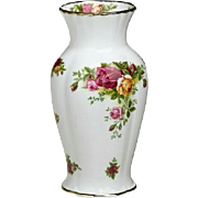 Royal Albert Old Country Roses Montrose Vase