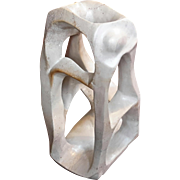 Vintage Abstract Stone Sculpture