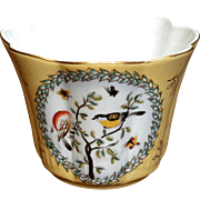 French Country Porcelain Canary Yellow Jardiniere