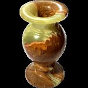 Vintage Agate Stone Vase