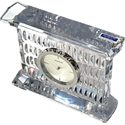 Waterford Crystal Large Paradox Clock In Original Box