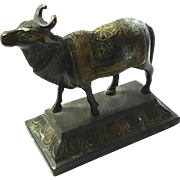 Antique Tibetan Bronze Bull