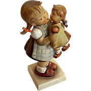 Hummel Girl With Doll Kiss Me Figurine 311 West Germany