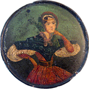 Early 19th Century Hand-Painted Portrait Snuff Box