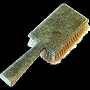 Antique Shagreen Clothes Brush, Circa 1890