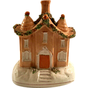 19th Century Staffordshire Pottery Cottage, Circa 1870