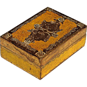 Vintage Italian Gilt Wood Florentine Box