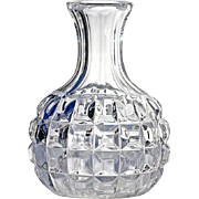 19th Century Mold-Blown Glass Wine Bottle Decanter