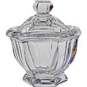 Baccarat Crystal Missouri Jam Or Sauce Jar