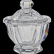 Baccarat Crystal Missouri Jam Or Sauce Jar