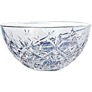 Signed Tiffany & Co. Cut Crystal Bowl