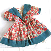 "Precious Roses 40's Factory Doll Dress For 21"" Doll"