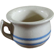 Salesman Sample Miniature 3 Stripe Chamber Pot