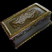 Beautiful Casket Box Roger Gallet Paris Extrait Indian Hay