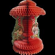 Darling Deco Beistle Die Cut Honeycomb Large Valentine Cupid Google Eyed Girl