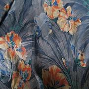 Exquisite Silk Jacquard Deco Piano Shawl