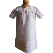 Early Doll Nightgown For Smaller Doll