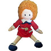 1970's Orphan Annie Knickerbocker Pocket Puppy