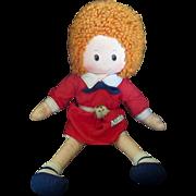 1970's Orphan Annie Knickerbocker Pocket Puppy