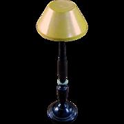 1930's-50's Wooden Floor Dollhouse Lamp