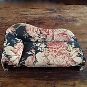 Antique Custom Fainting Couch Beautiful Antique Fabric Roses