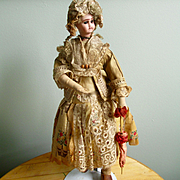 Fabulous Jules Verlingue Character Dressed French Doll