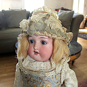 German Bisque Doll Original Outfit