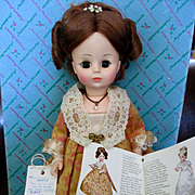 Madame Alexander First Lady Monroe Sample Doll Original Box Tags Book