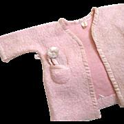 Vogue Doll Bathrobe Fleece Satin 1 Slipper