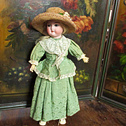 "Charming Armand Marseilles 16"" #390 with Original Dresses Hat"