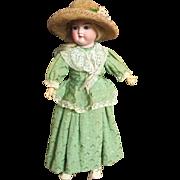"Charming Armand Marseilles 16"" #390 with Original Dresses Hat"