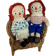 Raggedy Anne Andy Knickerbocker Miniatures