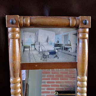 Small Mirror Wallace Nutting For Doll's Room