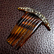 Doll Sized Decorative Deco Doll Comb