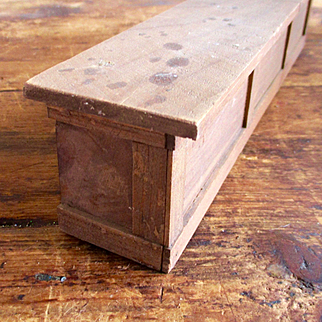 Vintage Wooden  Counter For Dollhouse  General Store