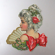 Victorian Scrap Valentine Card
