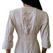 Edwardian Soutache Embroidered Sheath Tea Dress Or.........
